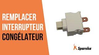Comment réparer votre congélateur - Remplacer l'interrupteur ?