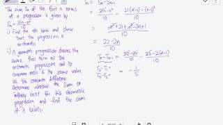 DHS 01 12a Arithmetic and Geometric Progression