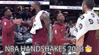 Best NBA Handshakes 2018 Ft. Cleveland Cavaliers, Golden State Warriors, Boston Celtics... MORE