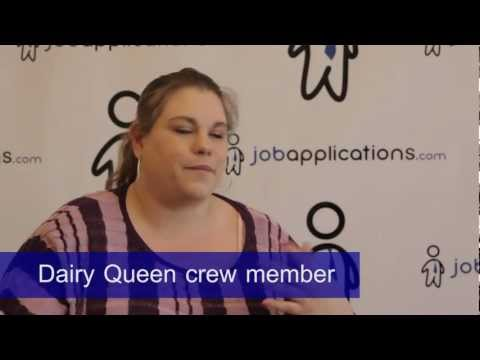 Dairy Queen Interview - Crew Member