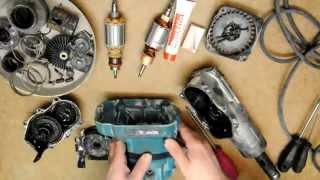 Макіта HR4000C - ремонт несправного Ротора