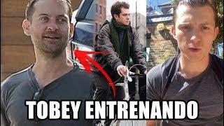 TOBEY Y ANDREW YA FIRMARON PARA EL SPIDER-VERSE CON TOM HOLLAND Y SE VIENE SPIDERMAN 4