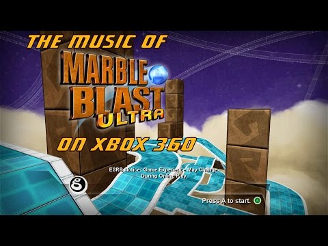 The Music and Gameplay of Marble Blast Ultra on Xbox 360 (Crisp Clean Audio Soundtrack)