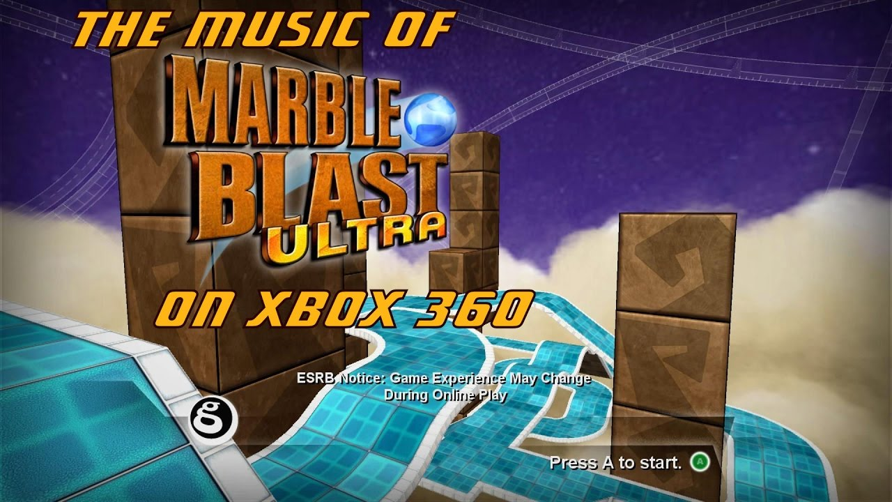 The Music and Gameplay of Marble Blast Ultra on Xbox 360