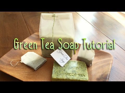 DIY Green Tea Goat's Milk Soap Tutorial