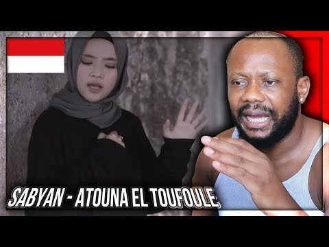 ATOUNA EL TOUFOULE Cover by SABYAN - INDONESIAN MUSIC REACTION!!!