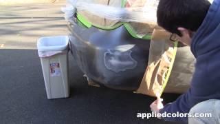 Professional Bumper Repair System Video 2. Part 2/5: Fill & Sand