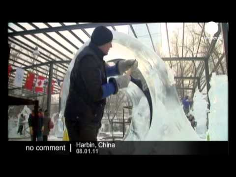 Ice sculpture competition in Harbin, China - no comment