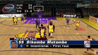 NBA ShootOut 2003 PS1 Gameplay HD