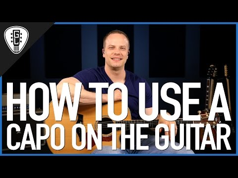how-to-use-a-capo-on-the-guitar---guitar-lesson