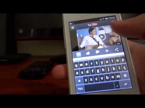 Alcatel One Touch Fire OT-4012A. Um smartphone incrível
