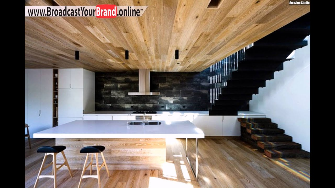 k che stein r ckwand granite holz boden dielen haus innen youtube. Black Bedroom Furniture Sets. Home Design Ideas