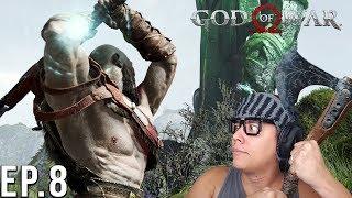 QUEBRANDO A ESTATUA DE THOR - God of War  Parte 8