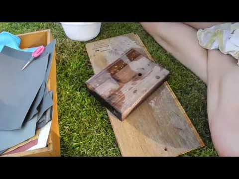 how to epoxidharz tutorial gie harz schleifen polieren teil 3 crystal epoxy resin. Black Bedroom Furniture Sets. Home Design Ideas