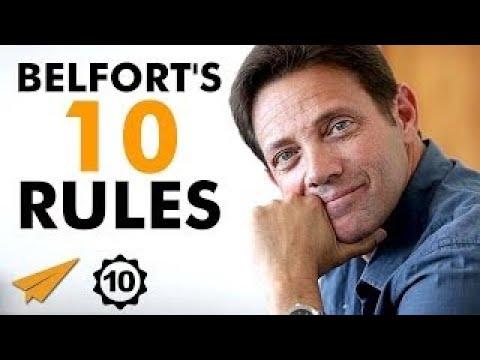 Download Jordan Belfort's Top 10 Rules For Success (@wolfofwallst)
