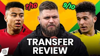 Jadon Sancho Close, But Not Quite There! | Transfer Review