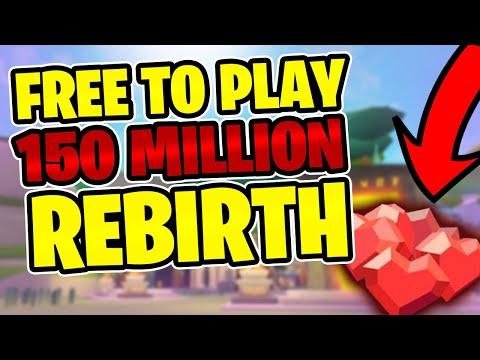 FREE TO PLAY LEVEL 150 MILLION REBIRTH | Giant Simulator