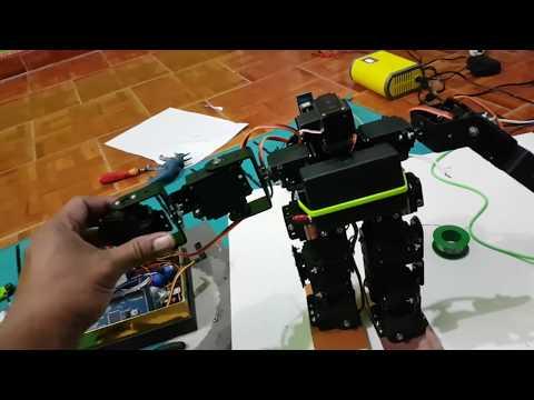 15 DOF HUMANOID ROBOT KIT , Membuat Robot Humanoid Arduino. INDONESIAN ROBOTIC