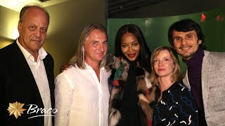 Naomi Campbell and Braco at NYC premiere of Power of Silence (October 2016)