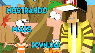 Mostrando O Mapa Do Phineas E Ferb No Minecraft Mais Download