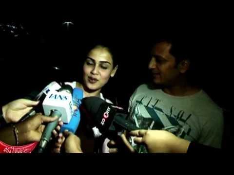 Exclusive Interview: Riteish Deshmukh-Genelia D'Souza at Jai Ho's Screening
