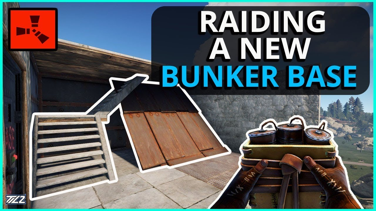 RAIDING A New Kind Of BUNKER BASE For Profit!! Rust Solo Survival Gameplay Ep4