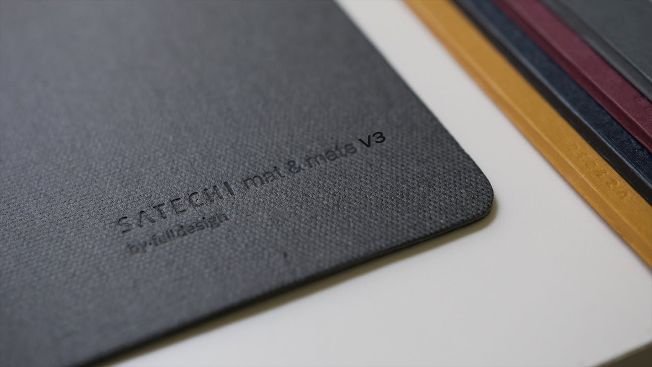 Satechi Desk Mat V3 Review (Water Proof)