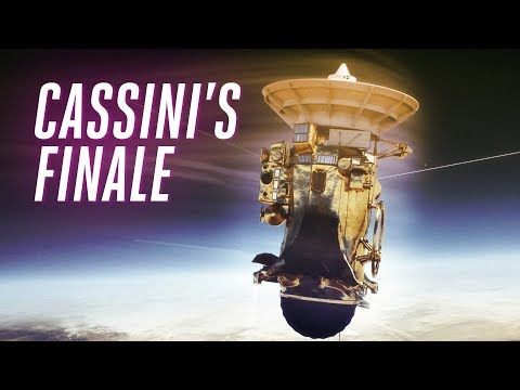 Download Youtube: NASA's Cassini probe is about to dive into Saturn