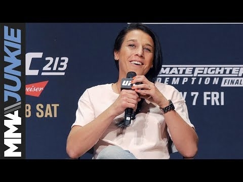 Joanna Jedrzejczyk admits she didn't really want to compete in MMA