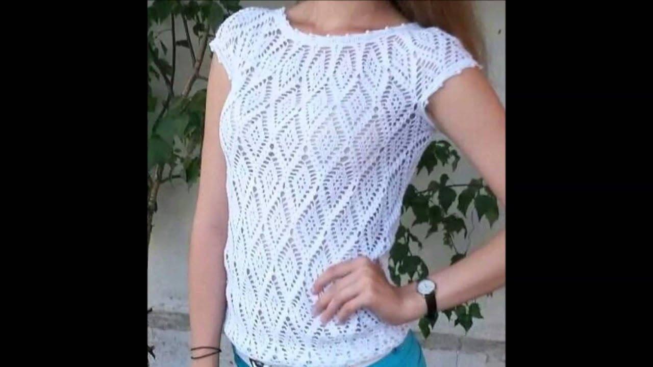 blusas juveniles para el verano a crochet   youtube