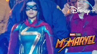 MS MARVEL FIRST LOOK! COMIC ACCURATE COSTUME!