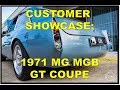 Customers 1971 MG MGB GT Coupe with ROVER V8