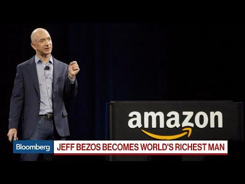 Amazon's Bezos Becomes World's Richest, Surpassing Gates