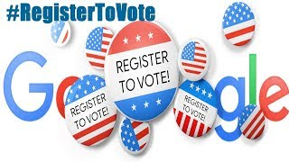 How to register to vote #RegisterToVote 2018 Google Doodle