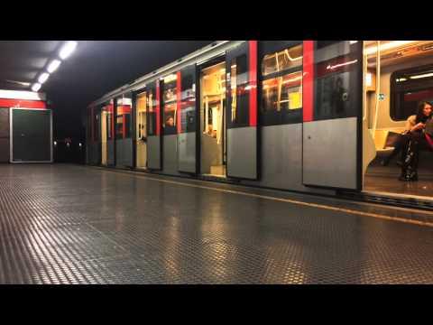 Metropolitana Milano — METRO LINEA ROSSA M1 FASCIA DI PUNTA – (TRENO MENEGHINO)