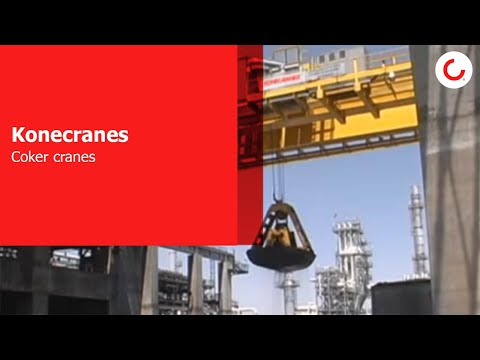 Konecranes- A global source for coker crane technology
