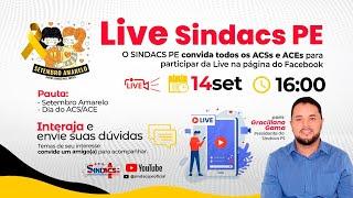 LIVE SINDACS PE - 14/09/2021
