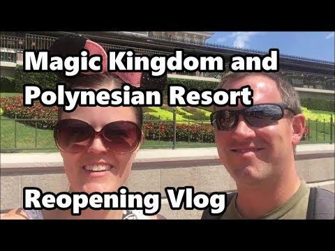 Magic Kingdom and Polynesian Reopening after Hurricane Irma Vlog   Walt Disney World