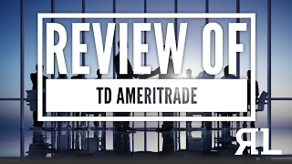 Review of TD Ameritrade