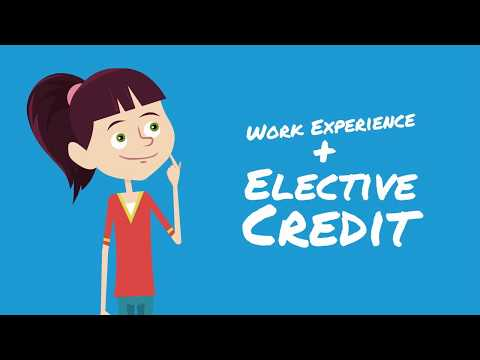 Earn HS Credits & Gain Work Experience