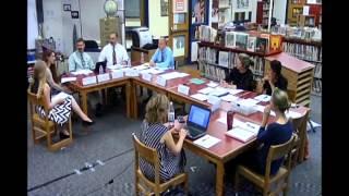 School Board Meeting 6/7/2017