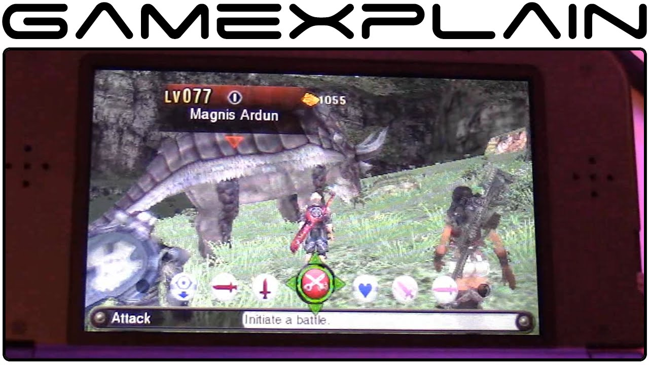 c329ebb35a Xenoblade Chronicles 3D Hands-On Gameplay (w  Direct Sound - New Nintendo  3DS) - YouTube