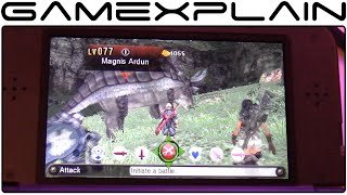 Xenoblade Chronicles 3D Hands-On Gameplay (w/ Direct Sound - New Nintendo 3DS)