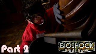 Bioshock:The Collection Bioshock Part 2:The Mad Surgeon (J.S Steinman Boss Fight)