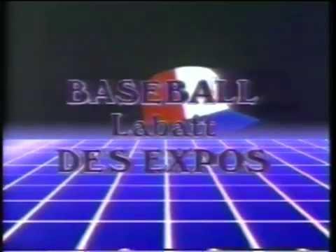 Baseball Labatt des Expos (1989)