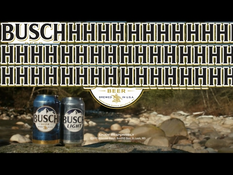 """Busch Beer Super Bowl Commercial But The """"BUSCHHHHH"""" Part Is Extended 10 Minutes"""