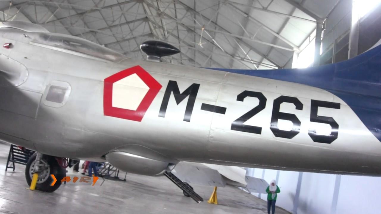 Museum Dirgantara Mandala Jogjakarta Melihat Pesawat Terbang