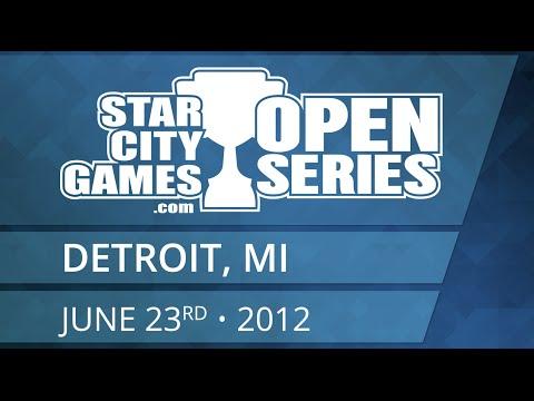 SCGDetroit - 2012 - Legacy - Round 5 - Ari Lax vs Devin Badaczeski