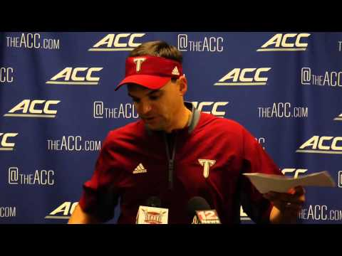 Troy Football Press Conference -- NC State Postgame (Neal ...
