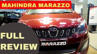 Mahindra Marazzo M8 Review in Hindi | Marazzo M8 Overview | Price | Features | Specs | Marazzo m8